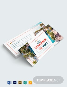 Editable Hotel Voucher Template