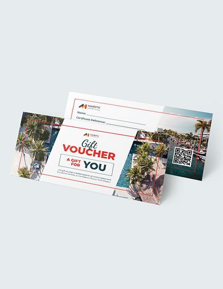 Sample Editable Hotel Voucher