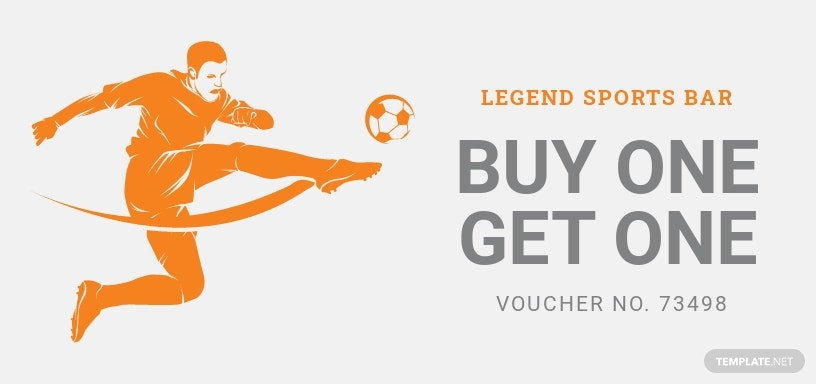Football Gift Voucher Template [Free JPG] - Illustrator, Word, Apple Pages, PSD, Publisher