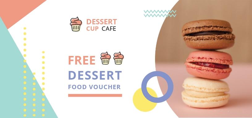 Dessert Food Voucher Template.jpe