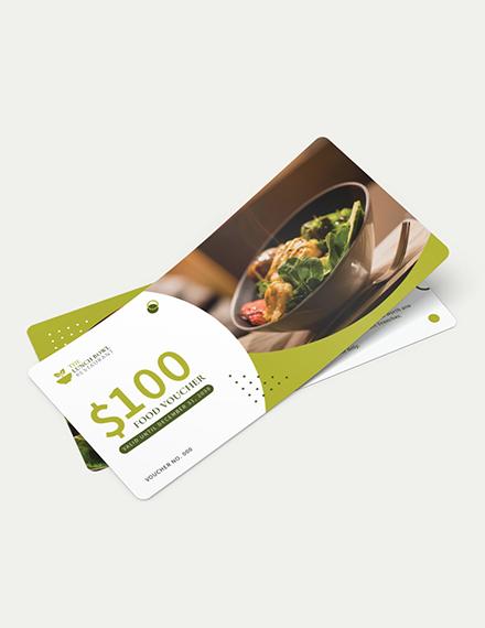Lunch Food Voucher Download