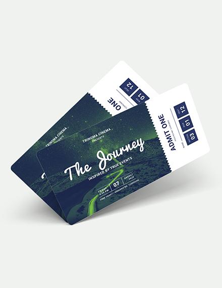 Sample Movie Ticket Voucher