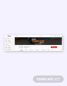 Free YouTube Lifestyle Template