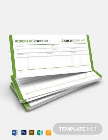 Purchase Voucher Template