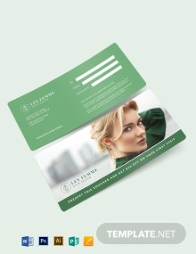 Salon Gift Voucher Template