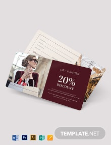 Sample Gift Voucher Template