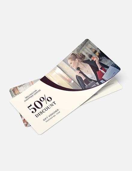 Shopping Gift Voucher Download