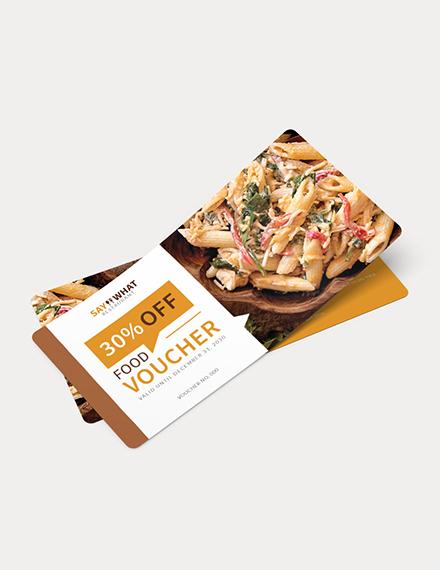 Simple Food Voucher Download