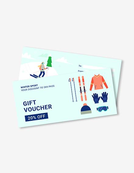 Skii Gift Voucher Download
