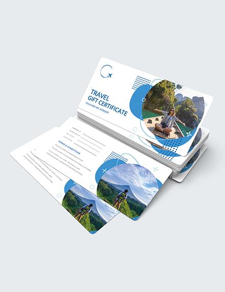 Sample Travel Gift Voucher