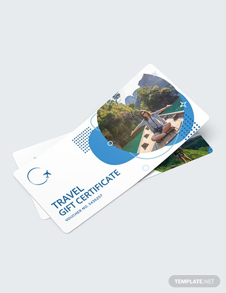 Travel Gift Voucher Download