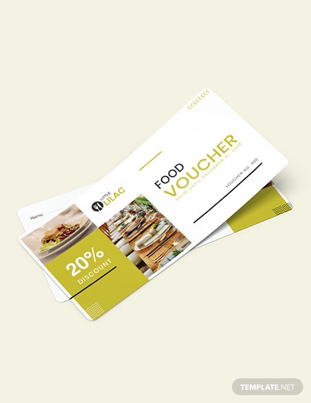Catering Food Voucher Download