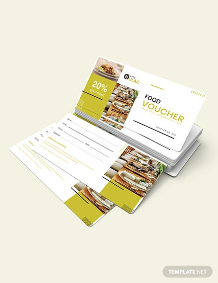 Sample Catering Food Voucher
