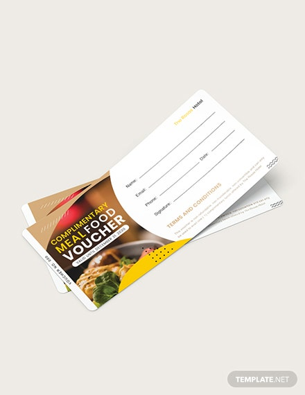 Complimentary Meal Food Voucher Download