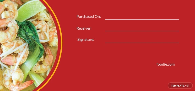 Cooking Class Voucher Template [Free JPG] - Illustrator, Word, Apple Pages, PSD, Publisher