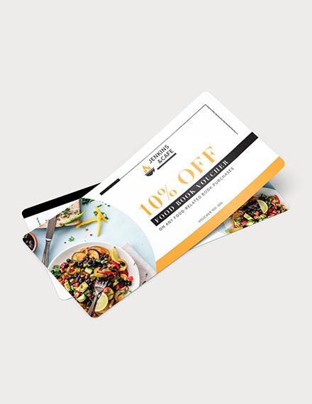 Food Book Voucher Download