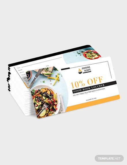 Sample Food Book Voucher
