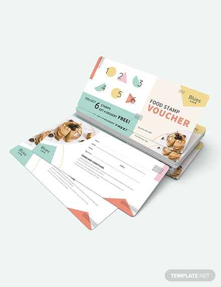 Sample Food Stamp Voucher