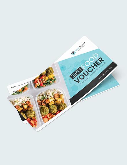 Hospital Food Voucher Download