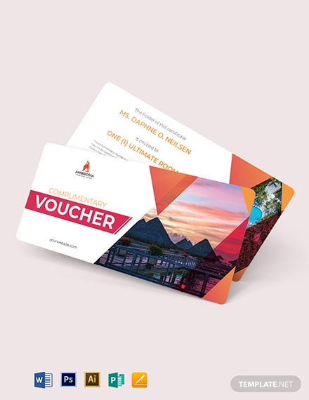 Hotel Complimentary Voucher Template