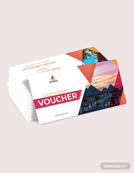 Sample Hotel Complimentary Voucher