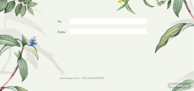 Massage Therapy Gift Voucher Template [Free JPG] - Illustrator, Word, Apple Pages, PSD, Publisher