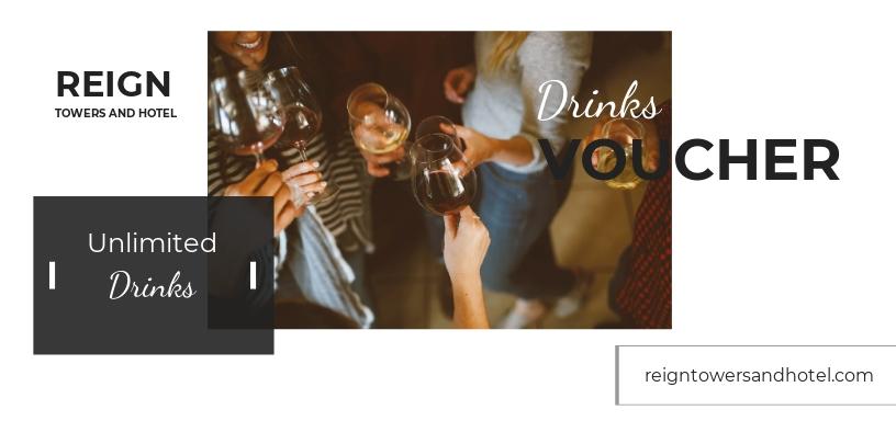 Hotel Mini Bar Voucher Template