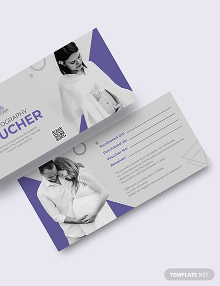 Maternity Photography Voucher Download