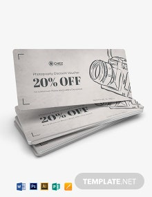 Printable Photography Voucher Template