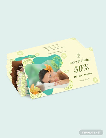 Sample Printable Spa Voucher