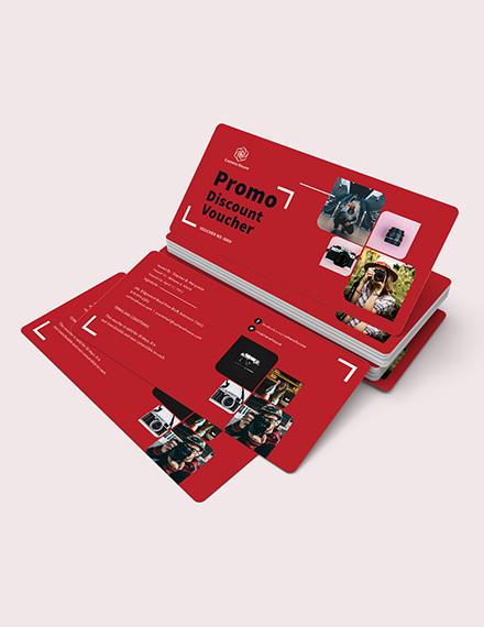 Sample Promo Discount Voucher