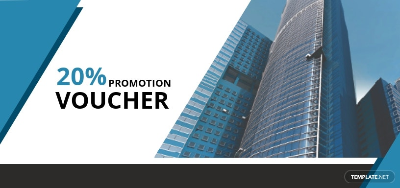 Real Estate Promotion Voucher Template [Free JPG] - Illustrator, Word, Apple Pages, PSD, Publisher
