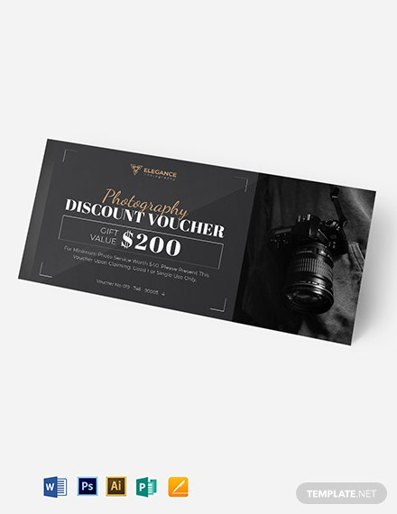 Sample Photography Voucher Template