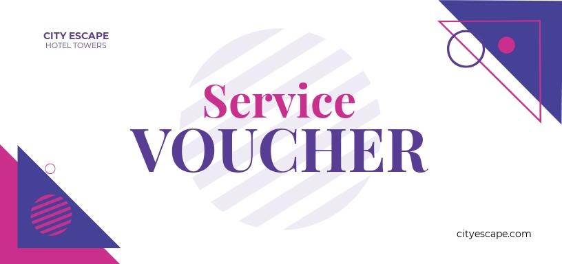 Service Hotel Voucher Template