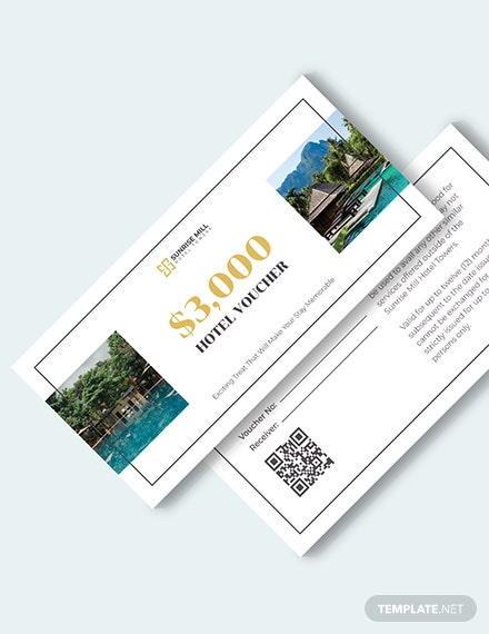 Simple Hotel Voucher Download