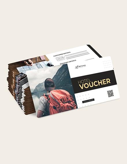 Sample Travel Agent Hotel Voucher