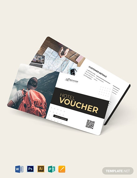 travel agent hotel voucher template 1