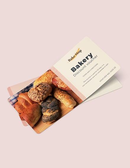 Bakery Discount Voucher Download