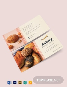 Bakery Discount Voucher Template