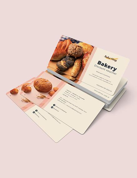 Sample Bakery Discount Voucher