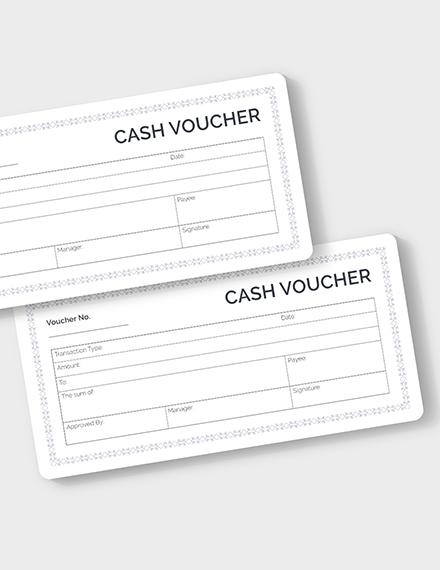 Blank Cash Voucher Download