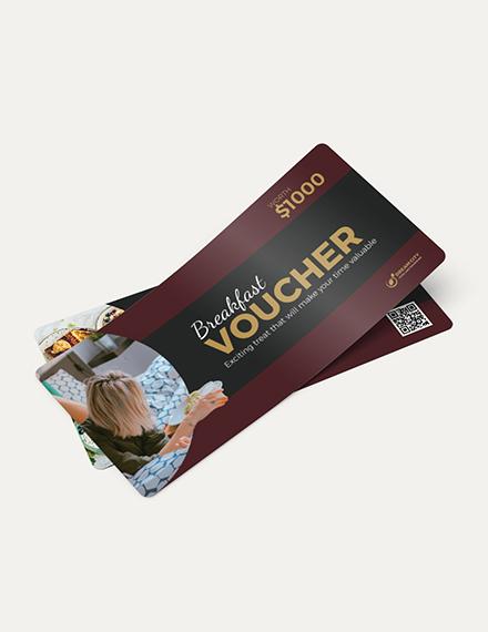 Breakfast in Bed Hotel Voucher Download