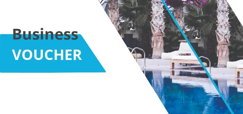 Business Center Hotel Voucher Template