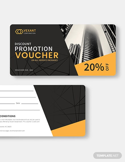 Business Promotion Voucher Download