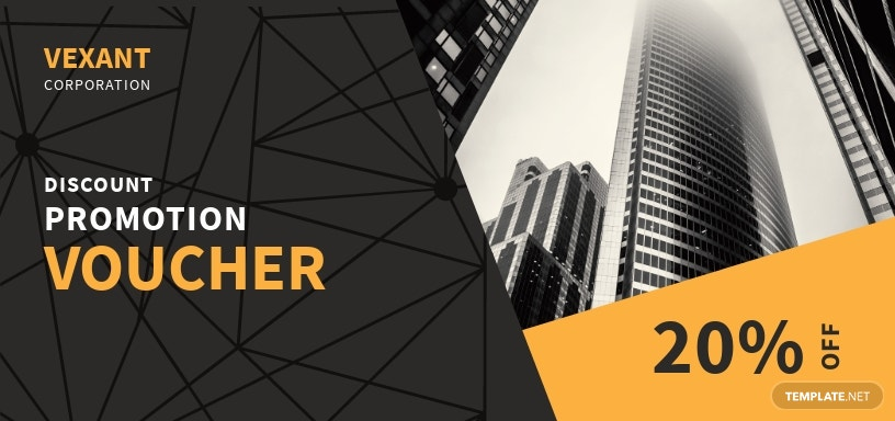 Business Promotion Voucher Template