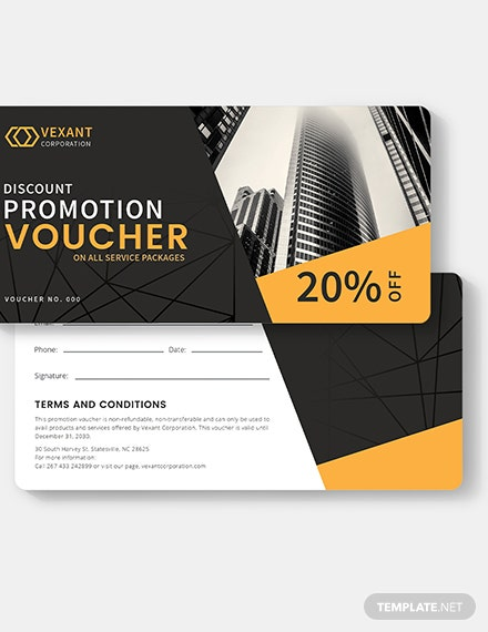 Sample Business Promotion Voucher