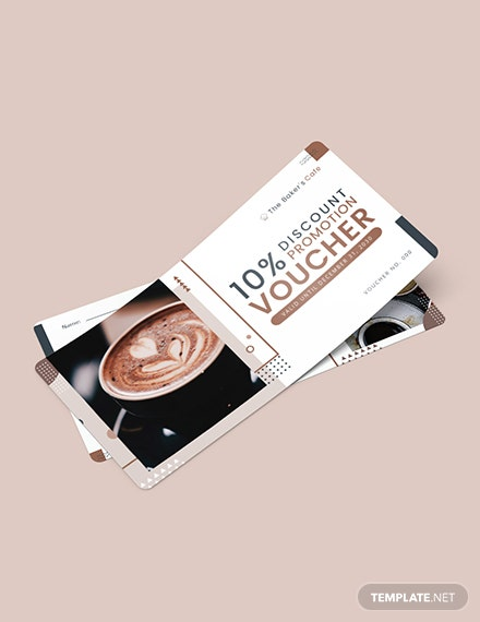 Cafe Promotion Voucher Download