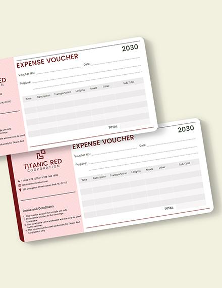 Cash Expense Voucher Download