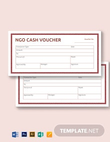 Ngo Cash Voucher Template