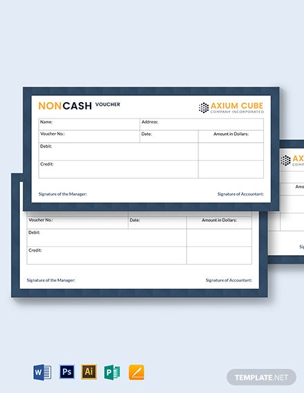 Non Cash Voucher Template